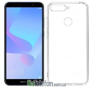 Чехол Ultra-thin 0.3 для Huawei Y6 Prime 2018 White