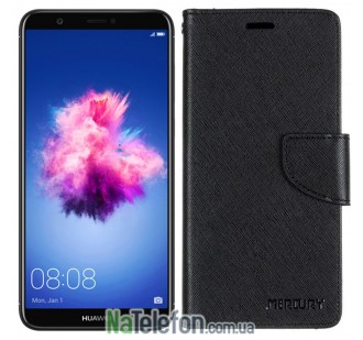 Чехол книжка Goospery для Huawei Nova Plus Black