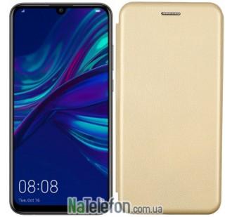 Чехол книжка U-Like Best для Huawei P Smart 2019/Honor 10 Lite Gold