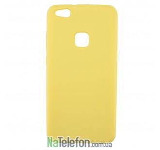 Чехол Original Soft Case для Huawei nova lite (P10 Lite) Золотой