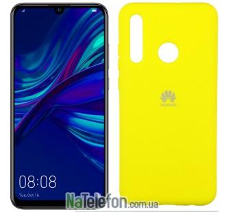 Чехол Original Soft Case для Huawei P Smart Plus 2019 Желтый FULL
