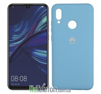 Чехол Original Soft Case Huawei P Smart 2019/Honor 10 Lite Ярко синий FULL