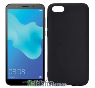 Чехол Original Silicone Case для Huawei Y5 (2018) Black