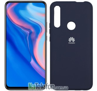 Чехол Original Soft Case для Huawei P Smart Z Темно Синий