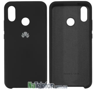Чехол Original Soft Case Huawei P20 Lite Чёрный