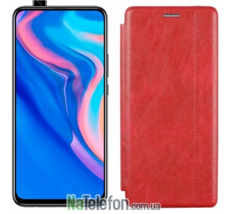 Чехол книжка U-Like Best для Huawei P Smart Z Red