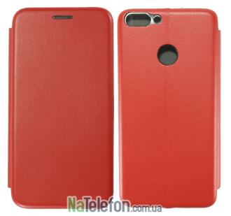 Чехол книжка U-Like Best для Huawei P Smart 2018 Red