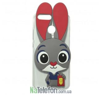 Силиконовый чехол Зверополис Rabbit Huawei Nova 2