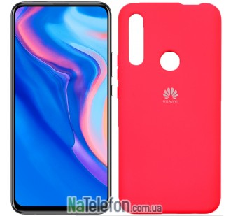 Чехол Original Soft Case для Huawei P Smart Z Малиновый