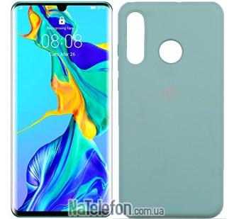 Чехол Original Soft Case для Huawei P30 Lite Голубой FULL