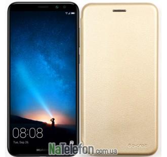 Чехол книжка U-Like Best для Huawei Mate 10 Lite Gold