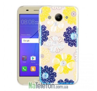 Чехол Remax Light Series для Huawei Y3 (2017) Flowers Dream