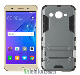 Чехол HONOR Hard Defence Series для Huawei Y3 2017/Y3 2018 Space Gray