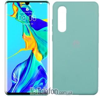 Чехол Original Soft Case для Huawei P30 Голубой FULL