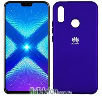 Чехол Original Soft Case для Huawei P20 Lite Фиолетовый