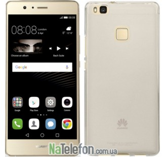 Ультра тонкий силиконовый чехол Remax 0.2 mm для Huawei P9 Lite White