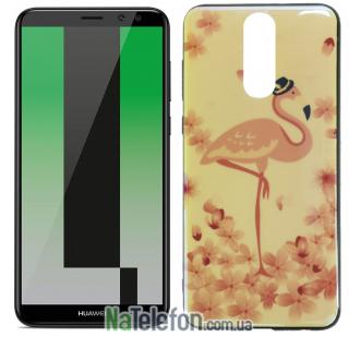 Чехол U-Like Picture series для Huawei Mate 10 Lite Flamingo