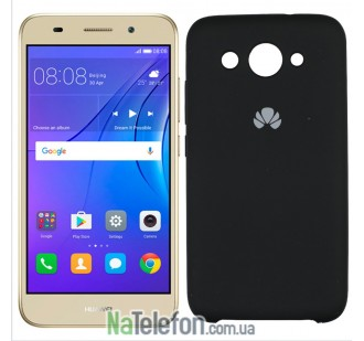 Чехол Original Soft Case для Huawei Y3 (2017) Чёрный