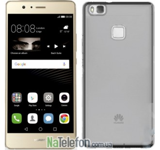 Силиконовый чехол Original Silicon Case Huawei P9 Lite Black