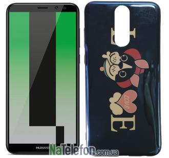 Чехол U-Like Picture series для Huawei Mate 10 Lite Love Balck