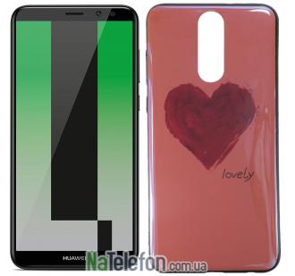 Чехол U-Like Picture series для Huawei Mate 10 Lite Heart Pink