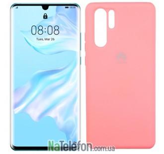 Чехол Original Soft Case для Huawei P30 Pro Розовый FULL