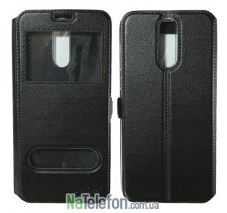 Чехол-книжка U-Like Simple Huawei Mate 10 Lite/Nova 2i Black