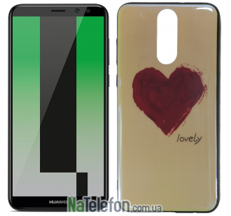 Чехол U-Like Picture series для Huawei Mate 10 Lite Heart Blue