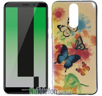 Чехол U-Like Picture series для Huawei Mate 10 Lite Butterfly