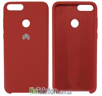 Чехол Original Soft Case для Huawei P Smart Красный