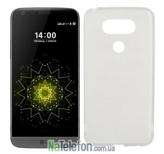 Силиконовый чехол Original Silicon Case LG G5 White