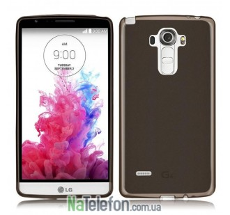 Чехол Original Silicone Case для LG G4/H818 Black