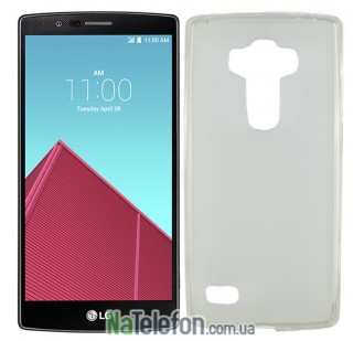 Чехол Original Silicone Case для LG G4/H818 White