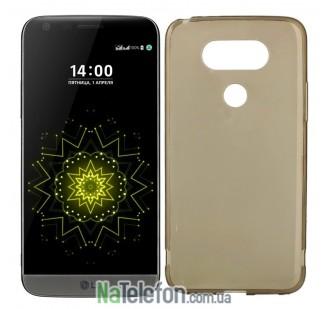 Силиконовый чехол Original Silicon Case LG G5 Black