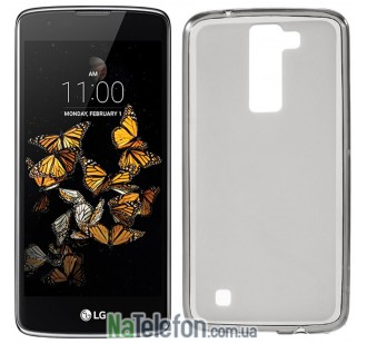 Чехол Original Silicon Case для LG K8/K350E Black