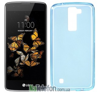 Чехол Original Silicon Case для LG K8/K350E Blue