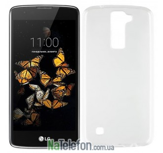 Чехол Original Silicon Case для LG K8/K350E White