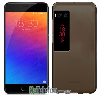Чехол Original Silicone Case для Meizu Pro 7 Black