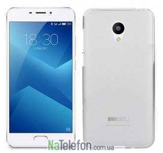 Чехол Original Silicone Case для Meizu M5 Note White