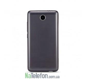 Ультра тонкий силиконовый чехол Remax 0.2 mm для Meizu M5c Black