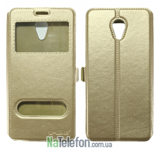 Чехол-книжка U-Like Simple Meizu M5 Note Gold