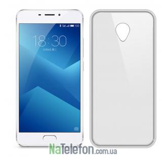 Чехол Ultra Thin Silicone Remax 0.2 mm для Meizu M5 Note White