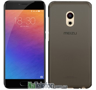 Чехол Original Silicone Case для Meizu Pro 6 Black