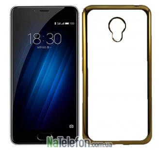 Силиконовый чехол Remax Air Series для Meizu M5 Note Gold