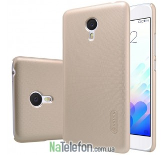Чехол NILLKIN Super Frosted Shield для Meizu M5s Gold