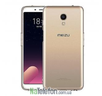Чехол Original Silicone Case для Meizu M6s White