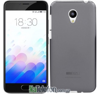 Чехол Ultra Thin Silicone Remax 0.2 mm для Meizu M3 Black