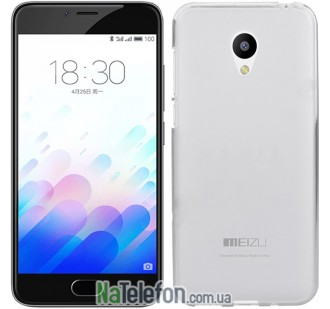 Чехол Ultra Thin Silicone Remax 0.2 mm для Meizu M3 White