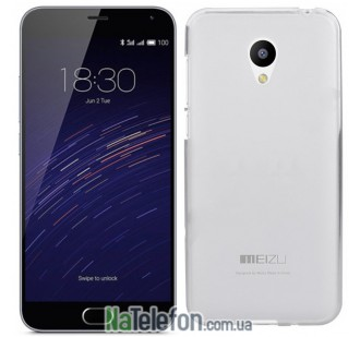 Чехол Original Silicone Case для Meizu M2 White