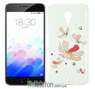 Чехол Lucent Diamond Case для Meizu M3 Note Iris (Pink)